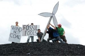 Fossil Fools Day 2008 in the UK