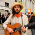 Alexander Ebert from Edward Sharpe and the Magnetic Zeroes recorded his latest video for an amazing song at PeaceUp's rally for Tim's trial. Indeed–LET'S WIN! Let's Win! from Alexander on […]