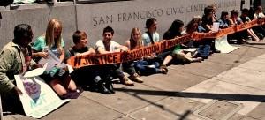 San Francisco standing in solidarity