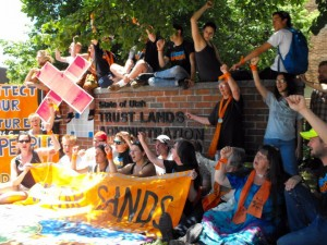 Protesting Tar Sands Extraction -- June 2011