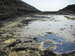 U.S. Oil Sands' tar sands mine at PR Springs.