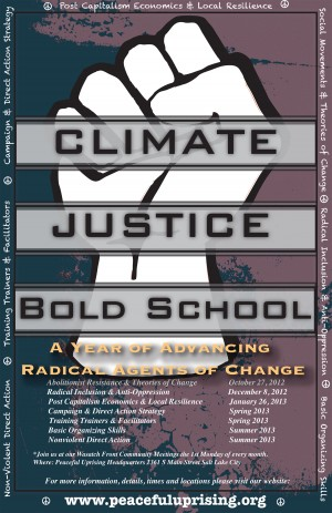 Bold School Flyer